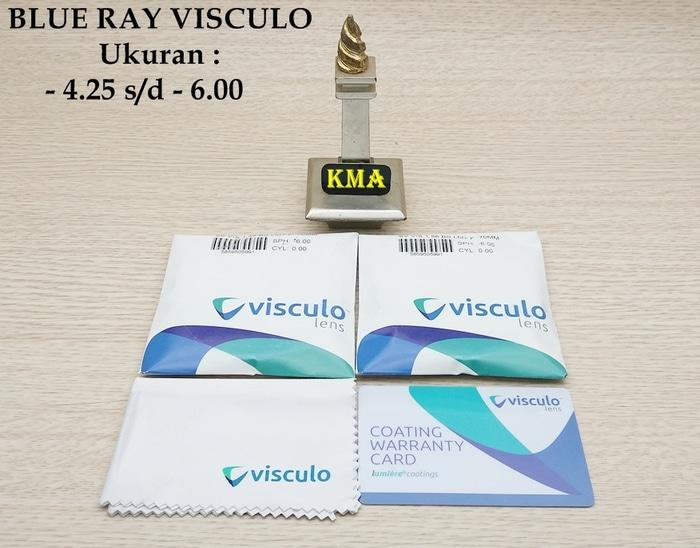 lensa blueray VISCULO ORIGINAL lensa minus blue ray anti radiasi dll