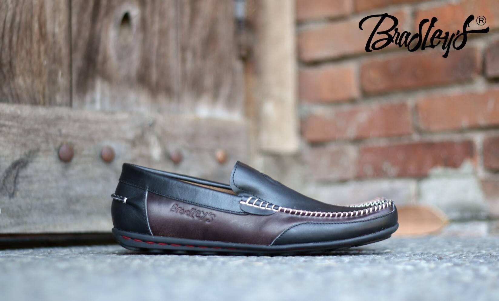 Sepatu Kulit Gaul Info Harga Boot Bradley Erol Pria Slip On Asli Terbaru Santai Bradleys Moscato Hitam Coklat