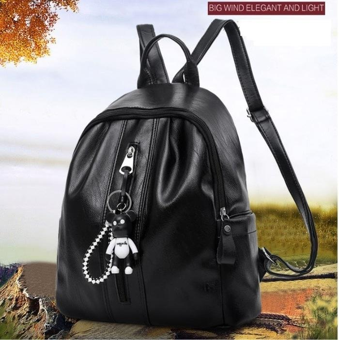 Tas Ransel / Backpack Punggung Wanita Remaja Import Kulit CS-BW33