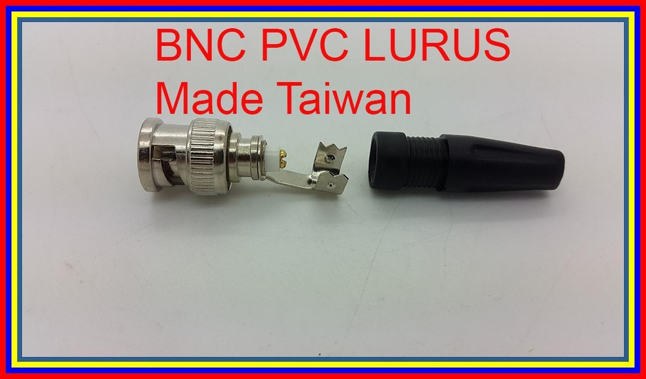 Made Taiwan Jack Bnc Male Pvc Model Lurus