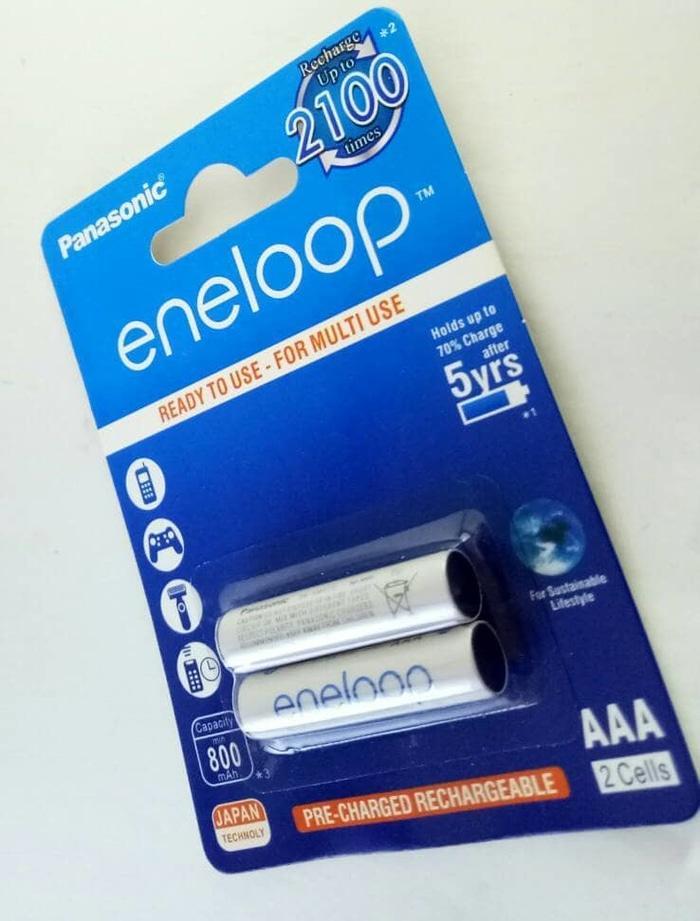 Baterai Batere Panasonic Enelop AAA Rechargeable Bisa Di Cas Ulang