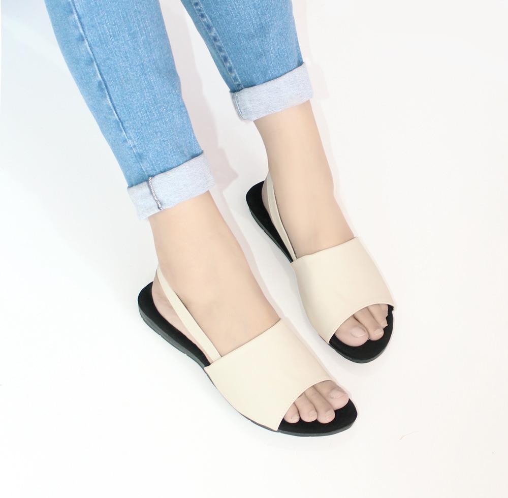 Terbaru di Lazada Produk High Quality - Ellen Taslim - Sandal Flat Mona AM  15 - 2bf222ff81