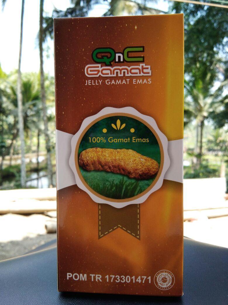 Qnc Jelly Gamat Suplemen Herbal Asli 100% Original Teripang Emas