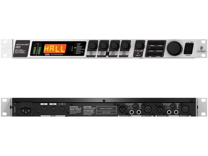 Audio -  Behringer Virtualizer 3D Fx2000 Multi Effects Processor - ready stock