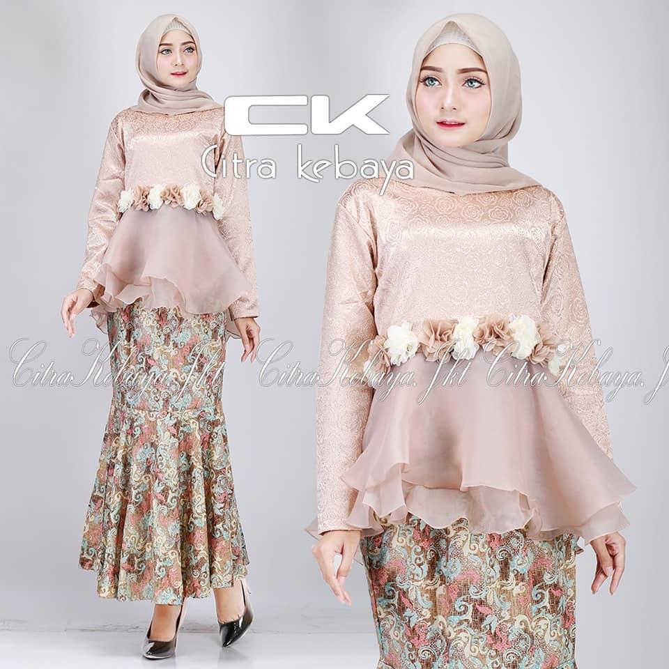 Setelan Kebaya Modern Hijab Remaja Style Modis Cantik Setelan Pakaian Baju Kebaya Jaguar Kebaya Tradisional Kebaya Wisuda Kebaya Keluarga Kebaya Rok