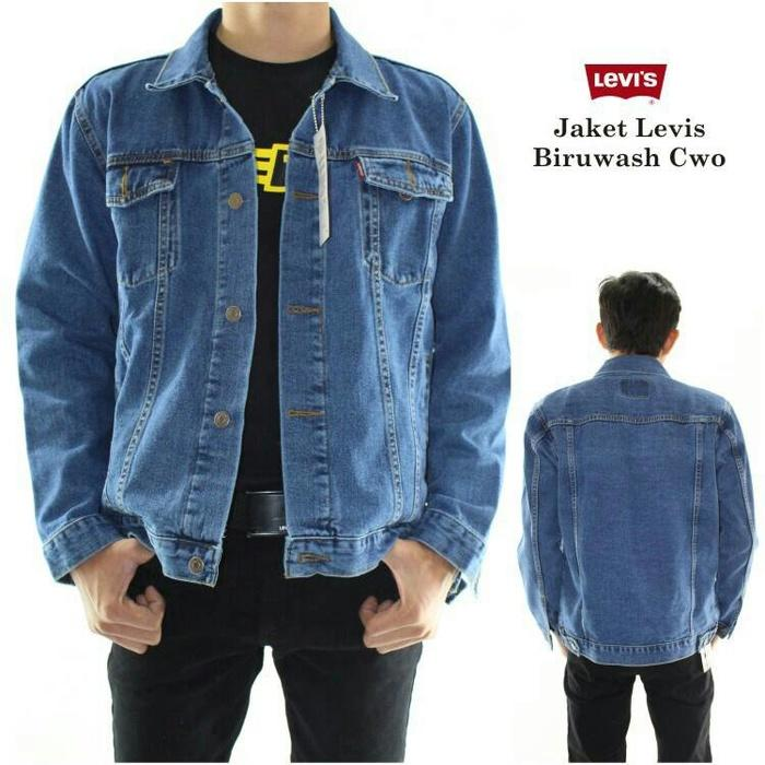 MELODIC Jaket Jeans Denim Pria 7 Warna Bisa COD