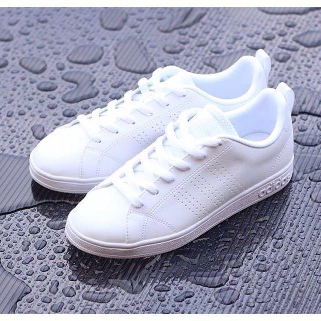 Adidas neo advantage cleans full-white original