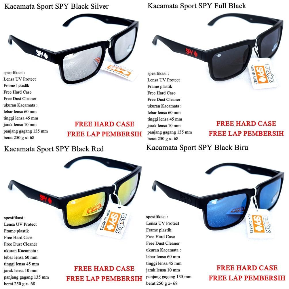 List Harga Terkini Kacamata Cowok 2018 Produk Laris Indonesia Kaca Mata Cowo Sunglasses Spy Black