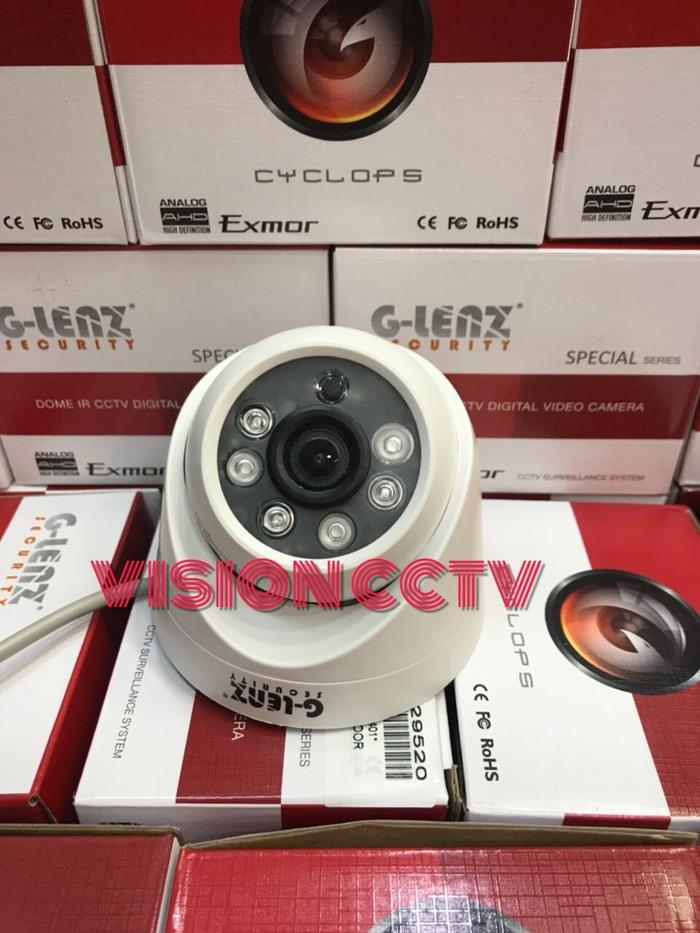 KAMERA CCTV INDOOR AHD 2MP IC SONY EXMOR GLENZ 1080P BAGUS
