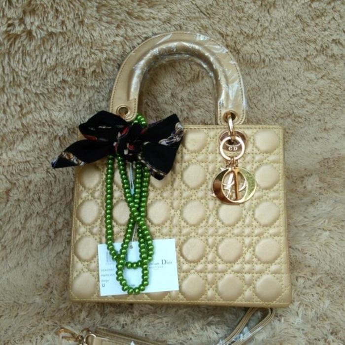 Terbaru Tas Wanita Di Or 25cm Dove Super Selempang Handbag Warna Gold