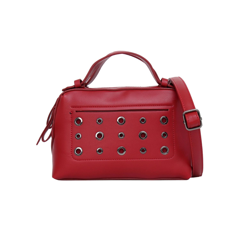 Tas Wanita Lorica by Elizabeth Adra Handbag Red