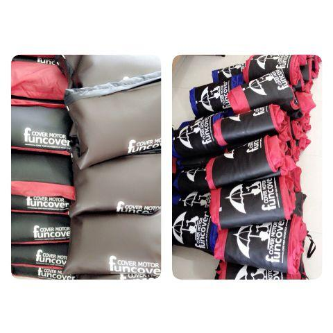 PROMO!! Distributor Cover Sarung Selimut Motor FunCover - Hitam MURAH / DISKON
