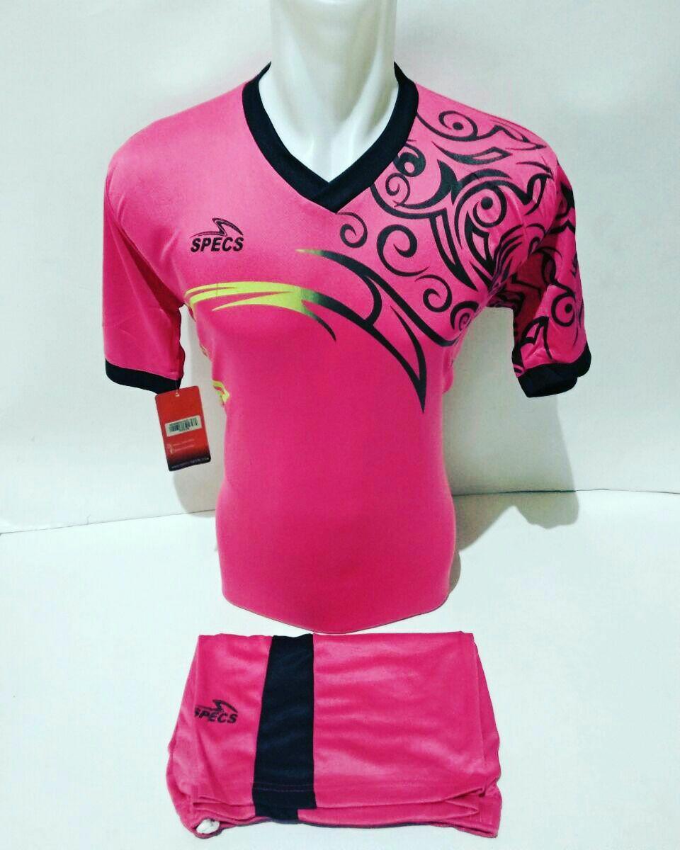 Baju Kaos Olahraga Jersey Setelan Bola Futsal Voli Spc 05 Pink