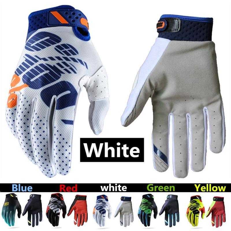 100% Race Gloves Riding Motocross Motor Bike Rider Protective Gloves for Men and Women