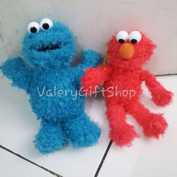 Boneka Cookie Monster / Elmo Sesame street