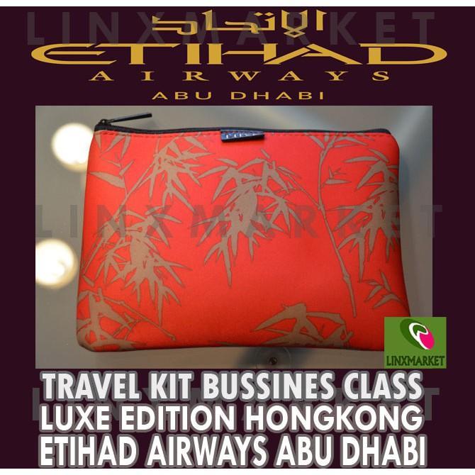 Travel Kit Bussinis Class Luxe Edition Hongkong Etihad Airways - Fincra
