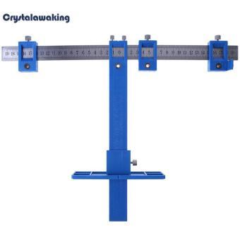 Bandingkan Toko 6pcs Multi-use Drill Punch Locator Furniture Woodworking Joinery Hand Tool (Blue) sale - Hanya Rp197.825