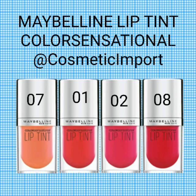 Maybelline Lip Tint Colorsensational 4.5ml 08