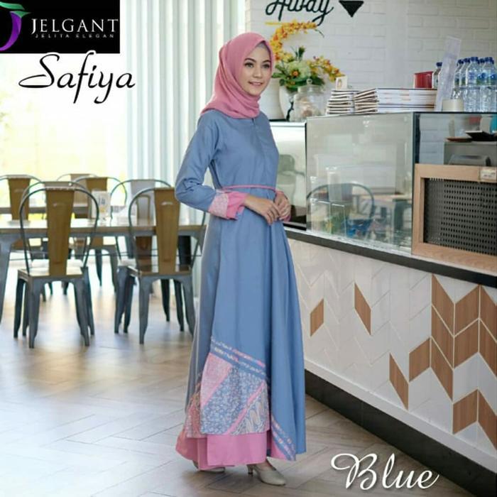 Safiya Dress Gamis Gaun Wanita - Fashion Wanita Keren - Fashion Wanita Elegan - Fashion Wanita Murah