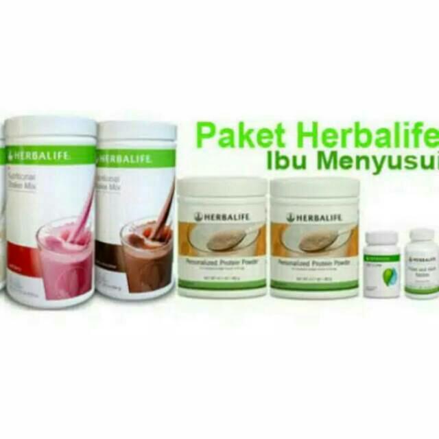 herbalife_#paket ibu menyusui paket pelangsing