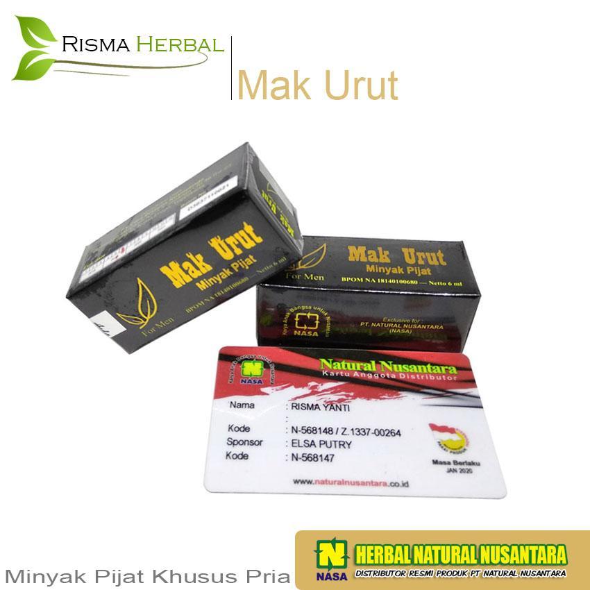MAK URUT - Minyak Urut Khusus Pria - Original PT.NASA