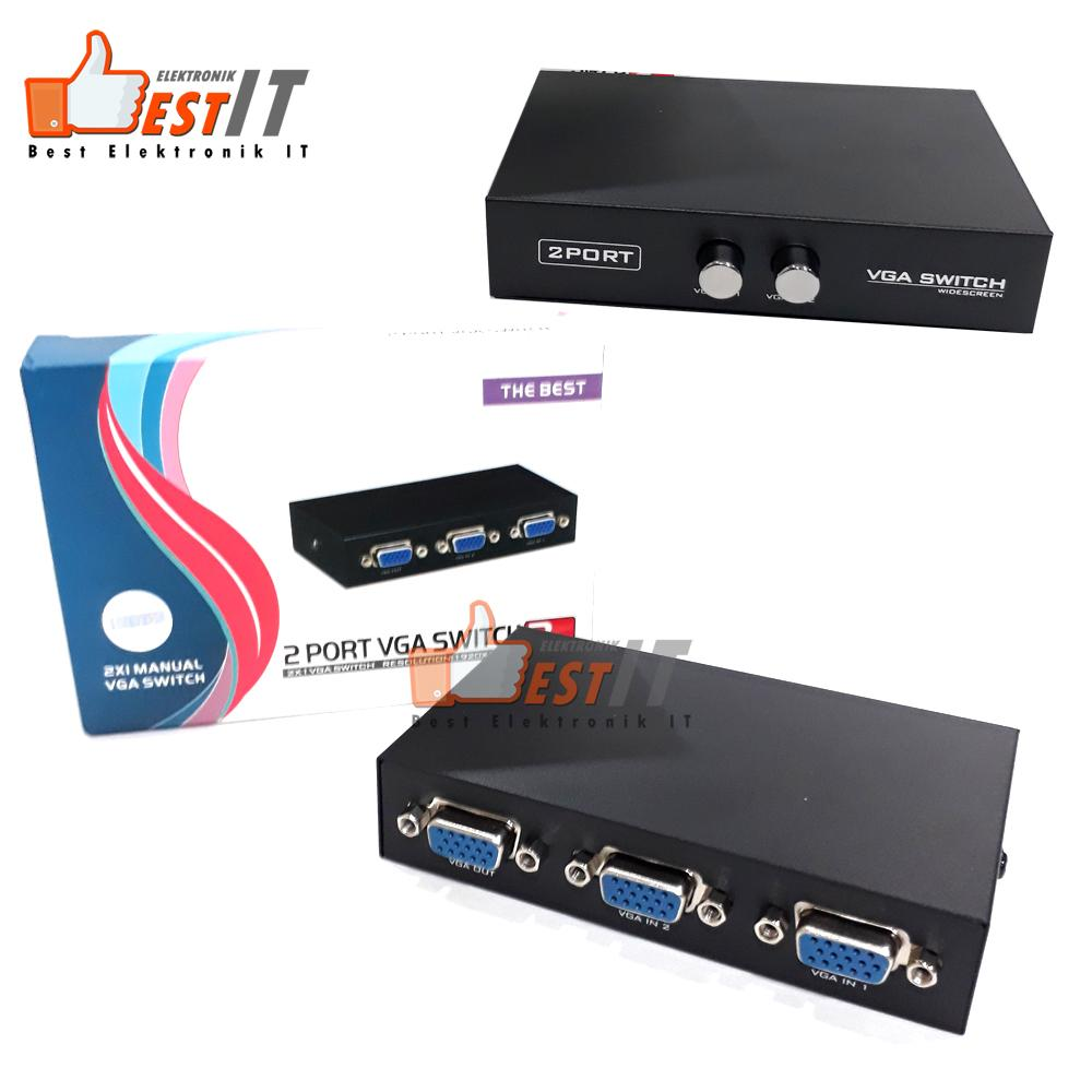 Vga Switch 2 Port Manual By Best Elektronik & It.