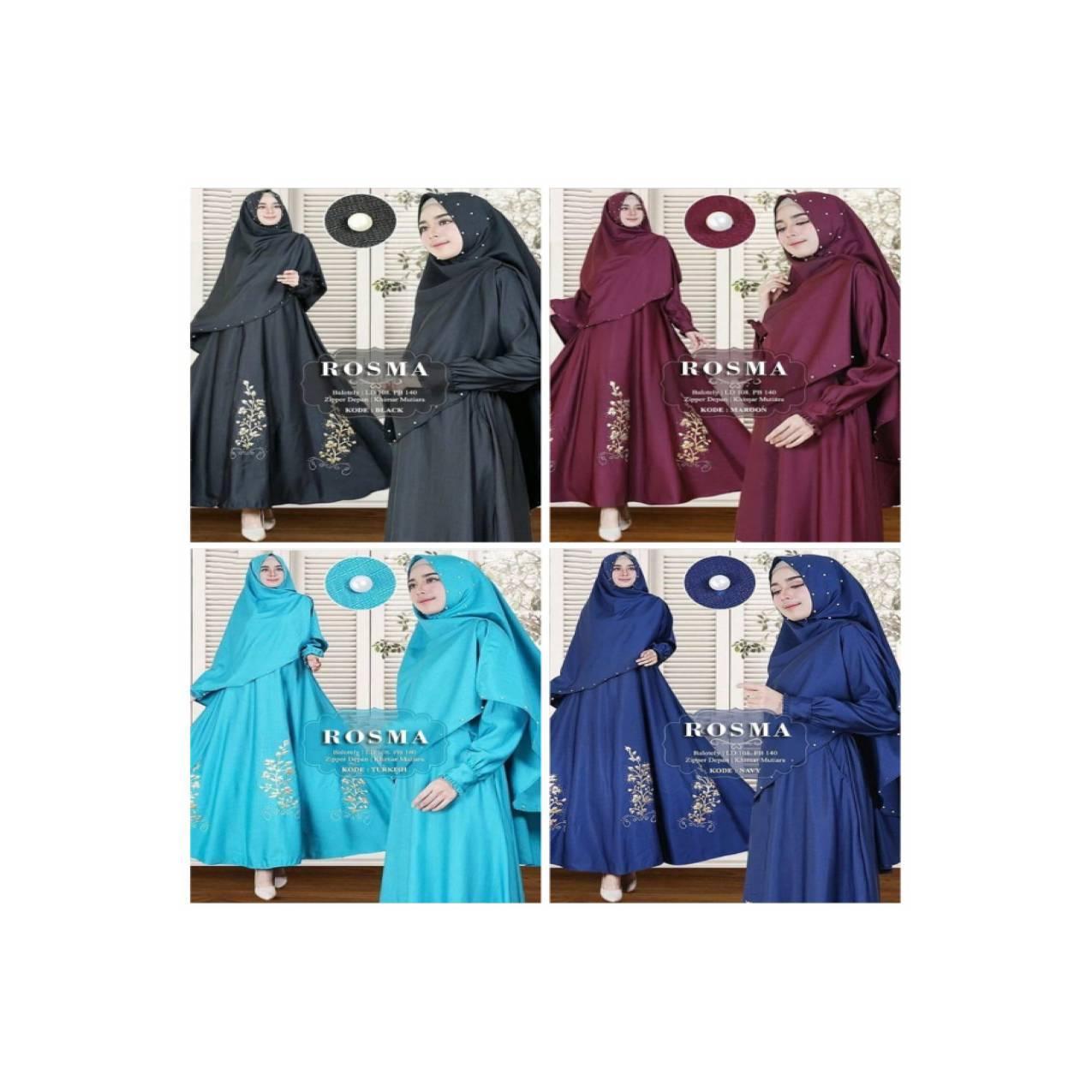 xxl xl jumbo bigsize gamis dress maxi baju muslim syari hijab pesta