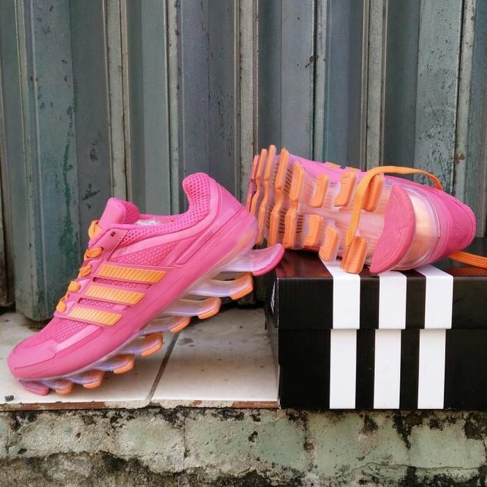 Promo Sepatu Wanita Adidas Spring Blade Techfit Premium Quality Tangerang Gratis Ongkir