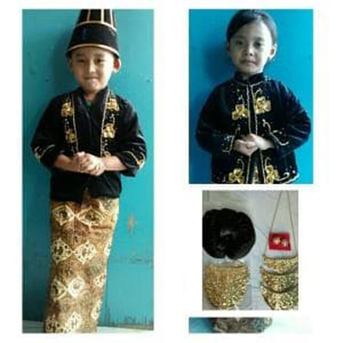 Best Seller!! Baju Karnaval Anak Pengantin Jawa Limited - ready stock