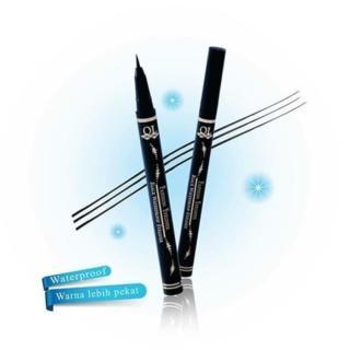 Hemat Eyeliner Fashion QL Black Waterproof Promo thumbnail