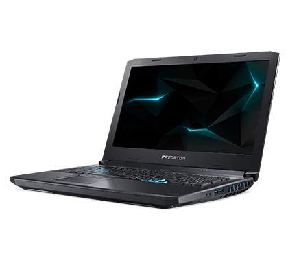 "Acer Predator PH517-51-98HJ (HELIOS 500) – Black [17.3""/i9-8950H/16GB(2x)/512GB+512GB+2TB/GTX1070/WIN 10]"