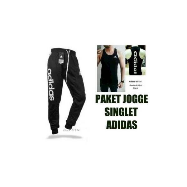 Setelan Celana Jogger Pants Singlet Kaos Nike Underarmor Gym Fitness