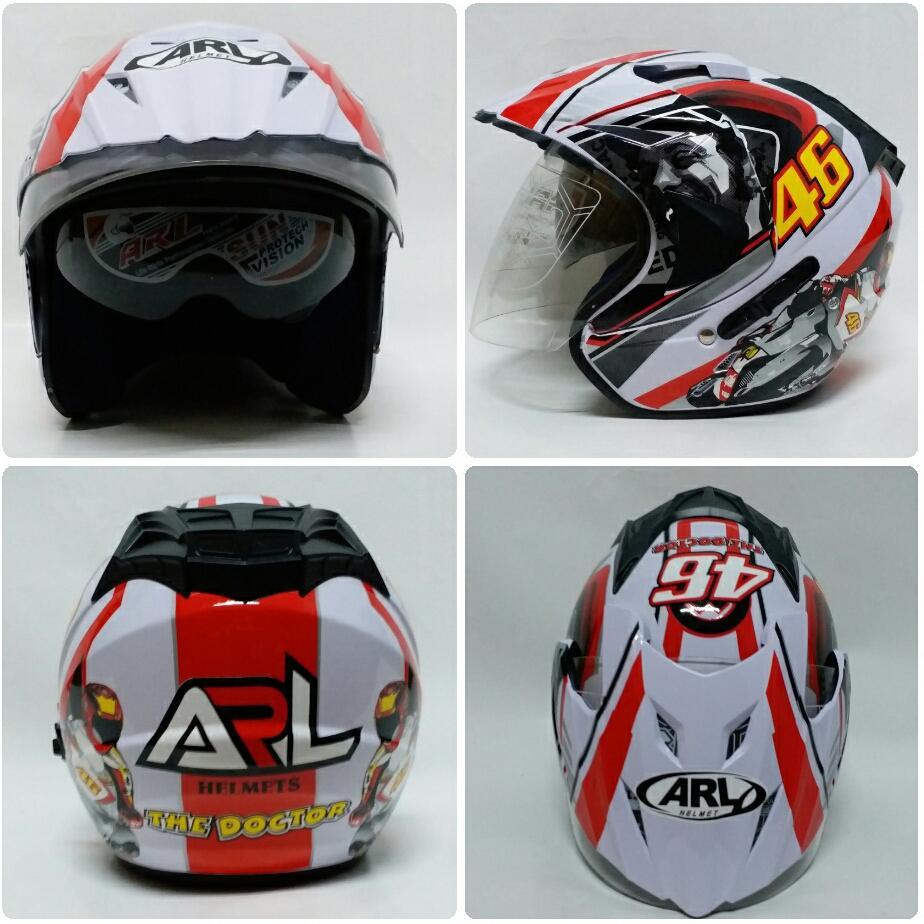 Harga Spion Motogp Rizoma Tomok Elisse Full Cnc Aluminium Nmax Aerox Helm Arl Half Face Double Visor Valentino Rossi 46 Putih