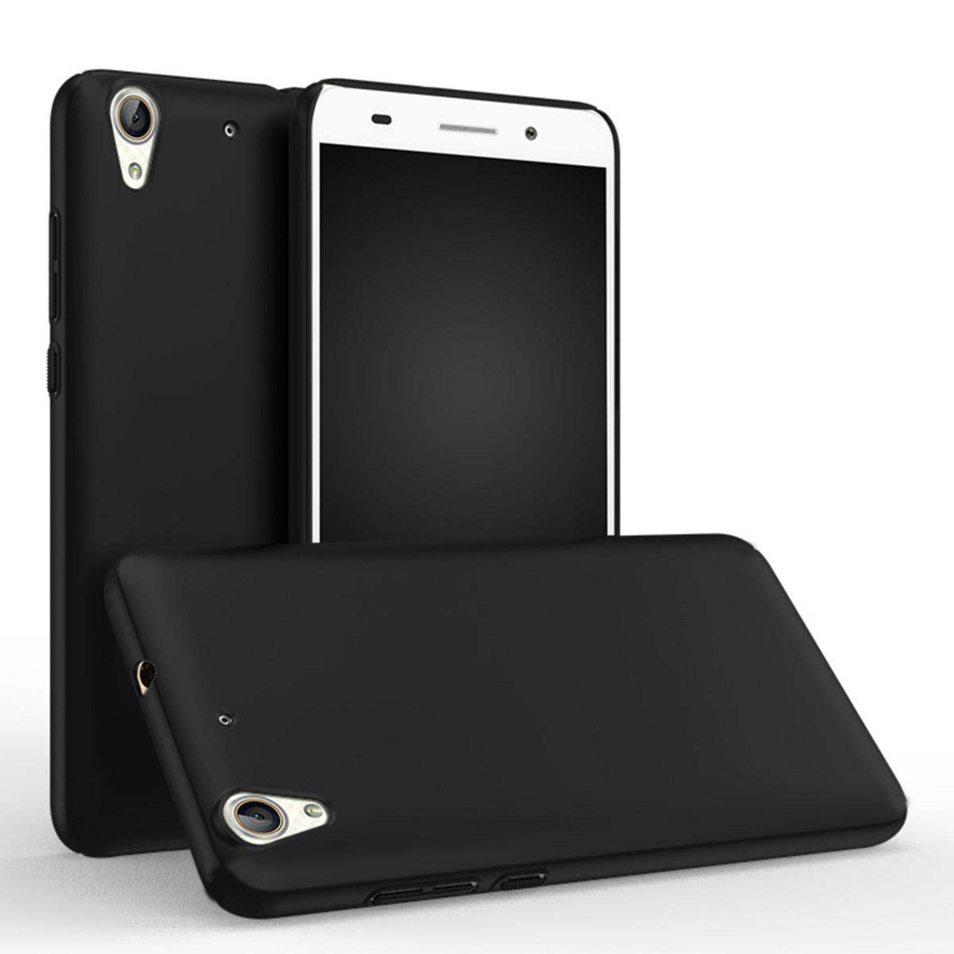 DarkNight for Huawei Ascend Y6ii / Y6 2 / Y6 (2016) | Slim Case Black Matte Softcase Premium (Anti Minyak/Anti Sidik Jari) - Hitam Doff