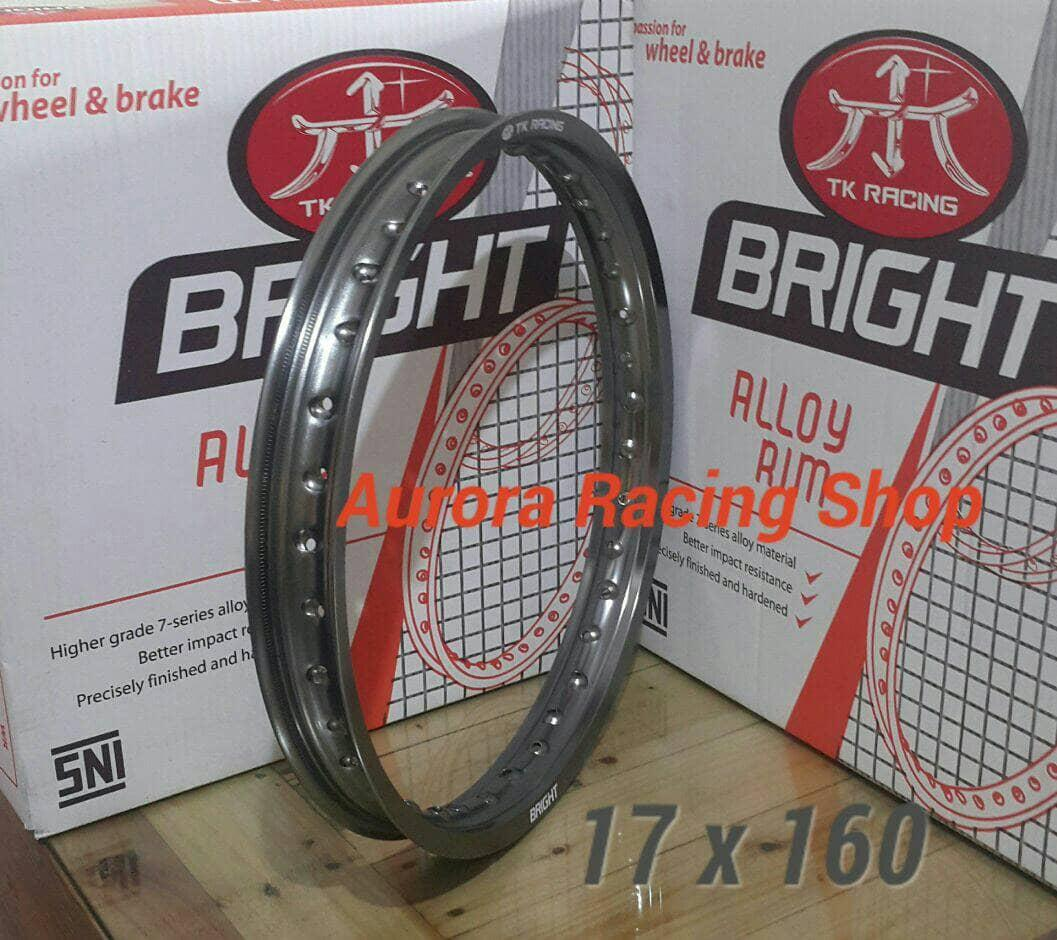 Velg - Rim TK Bright 17 x 160 Warna Titanium BEST SELLER