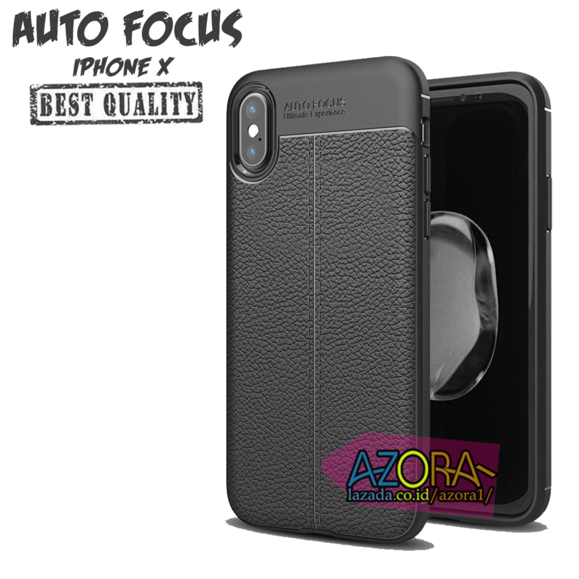 Case Auto Focus Iphone X ( 5.8 Inch ) Dual Camera Leather Experience Slim Ultimate