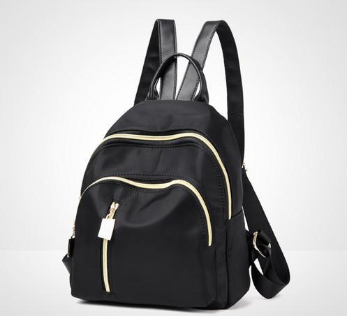 Tas Ransel / Backpack Wanita Import Murah Terbaru CP 384 BLACK