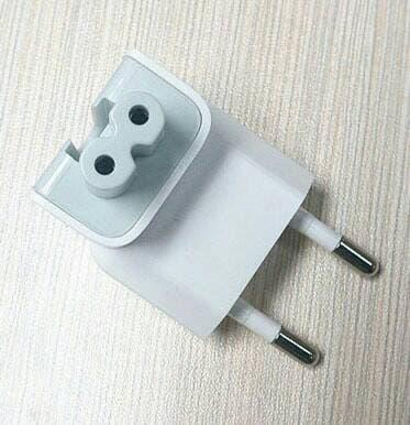 ORIGINAL kepala charger macbook magsafe ipad AC PLUG for indonesia / CHARGER-OM234
