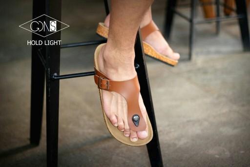 Goodness Hold Light - Sandal Birkenstock Sandal Kasual Pria Santai Kulit Asli Murah Original Gaya Maskulin Pantai Sandal Rumah Sandal Jenpit Formal Casual