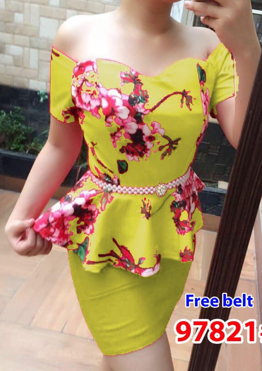 97821# baju pesta import / setelan wanita / setelan pesta / stelan import fashion /