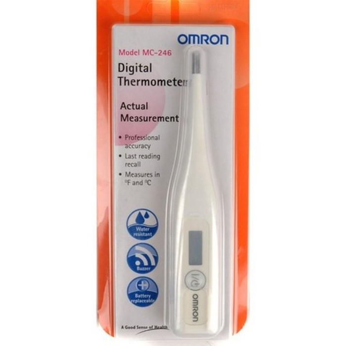 Jual Thermometer Omron MC 246 Termometer Digital Alat Ukur Suhu Badan Limited
