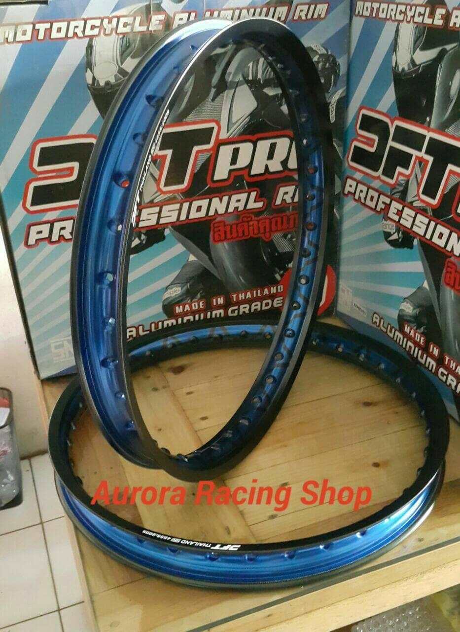 Velg - Rim DFT V Line 17 x 140 Warna Black Blue BEST SELLER
