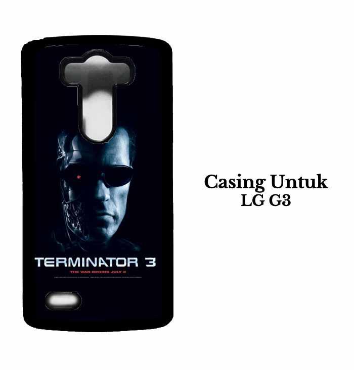 Casing LG G3 terminator Hardcase Custom Case Se7enstores