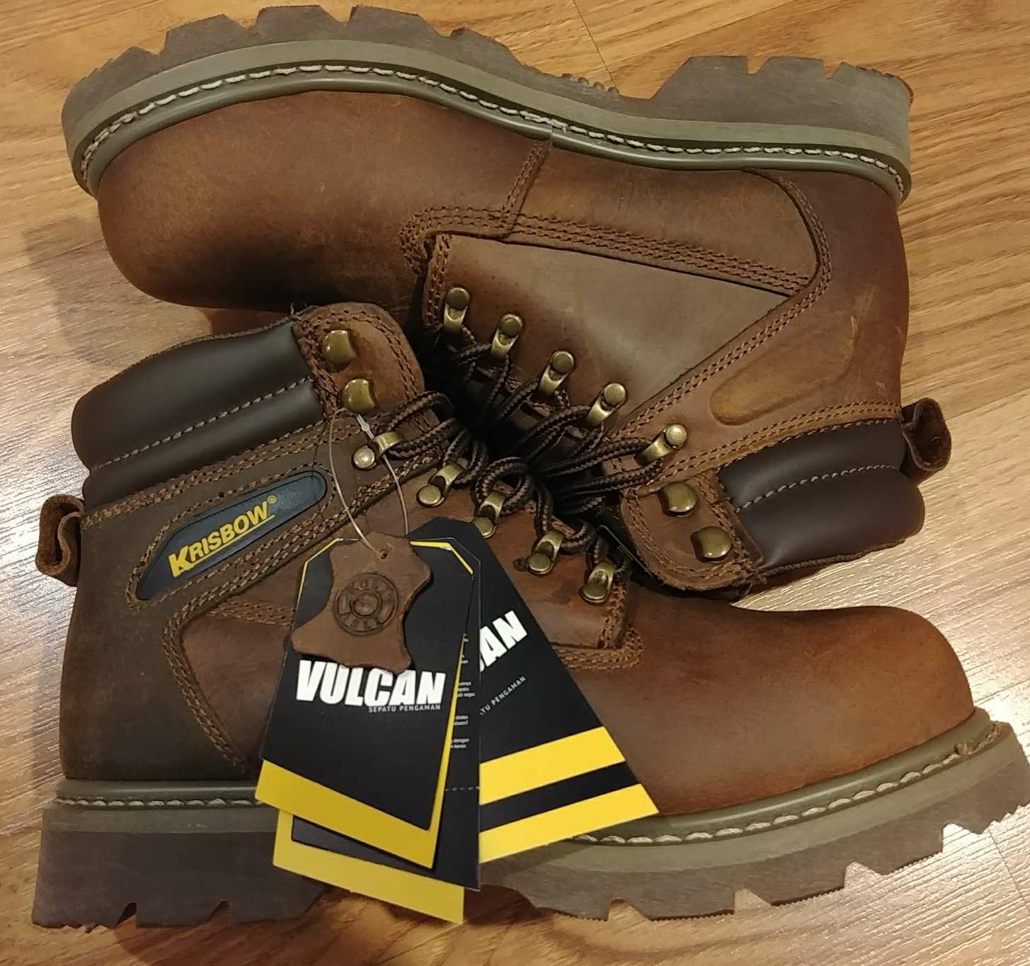 357159587dc JUAL Safety Shoes Sepatu Pengaman Vulcan Ukuran 41
