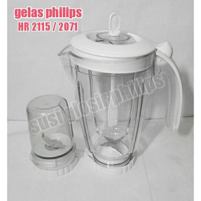 Gelas Blender Philips Set Lengkap Tipe 2115/2116/2061/2071 - Vfiuy5