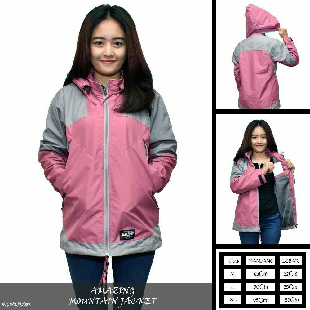 Jaket Parasut Wanita   Jaket Hodie Pink   Jaket Motor   Jaket Gunung wanita    Anti 8c8fd8bbc9