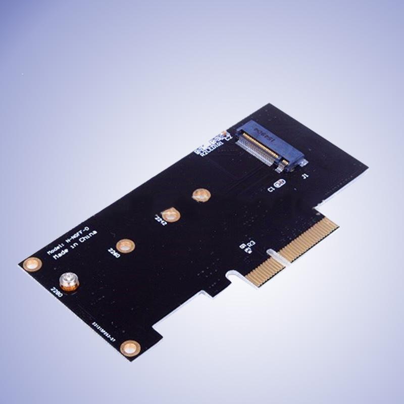 M Kunci M.2 Ng SSD untuk Pci-E X4 Slot Kartu Adaptor untuk 2280 2230 2242 2260