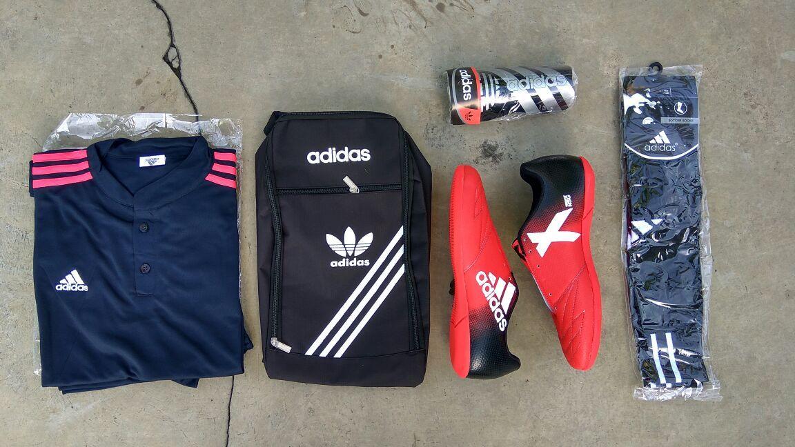 Sepatu Futsal Keren orens Paket Lengkap + Kaos Futsal Keren / Sepatu Futsal Murah / Sepatu Futsal Kuat