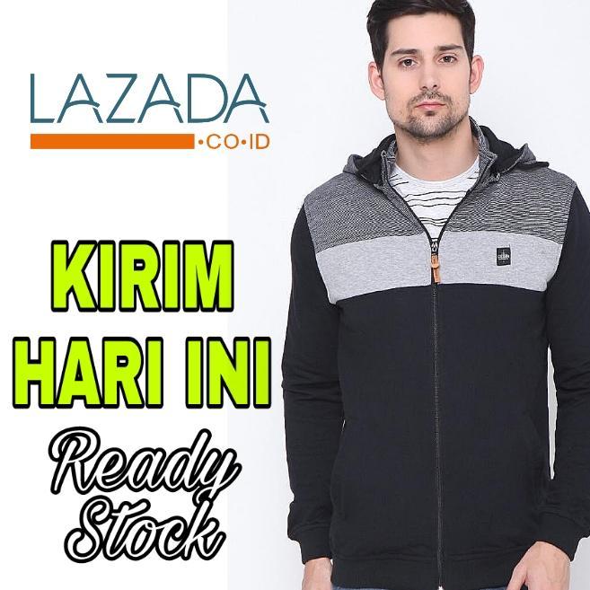 Jaket Pria Resleting Bahan Kaos Tebal Bagus - Cressida Original