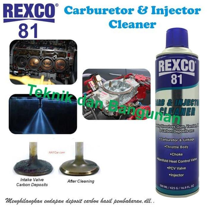 Harga Diskon!! Caburetor & Injector Cleaner Rexco-81 500Ml - ready stock